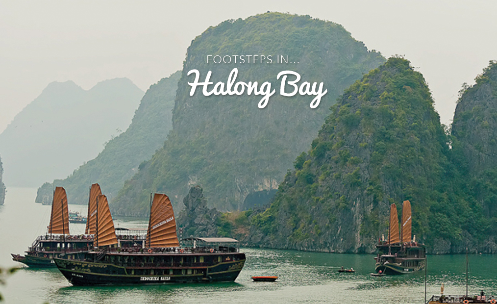 Footsteps in…Halong Bay