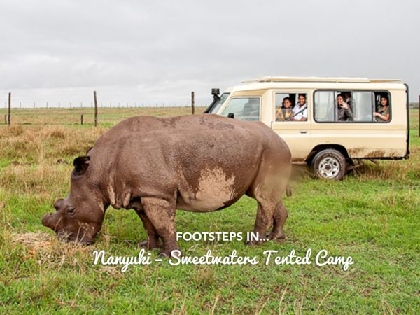 Footsteps in…Nanyuki – Sweetwaters Tented Camp