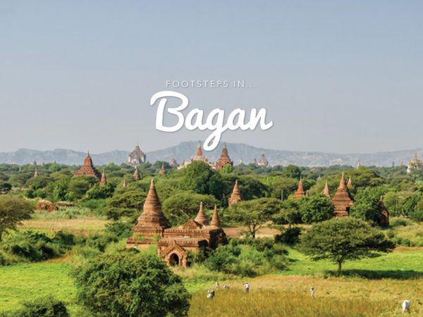 Footsteps in…Bagan