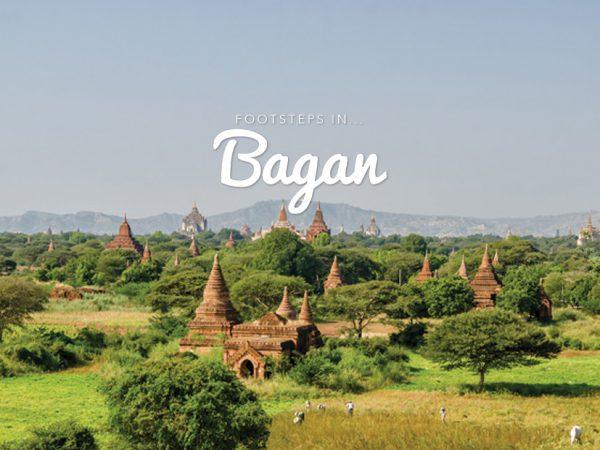 Footsteps in…Bagan