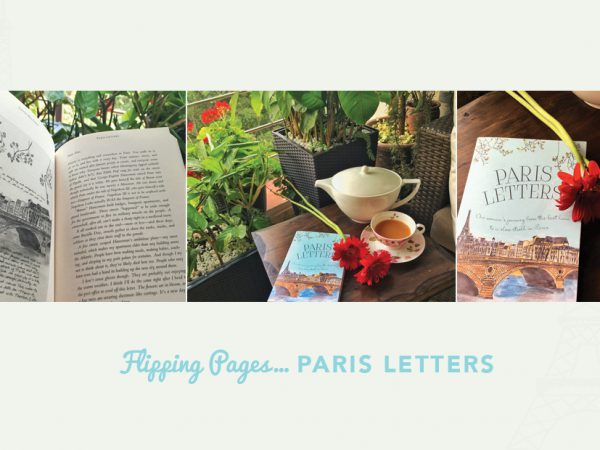 FLIPPING PAGES….PARIS LETTERS