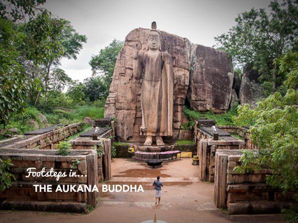 Footsteps at…The Aukana Buddha