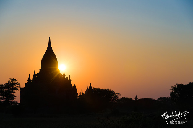 Sunset. This is Burma – unlike any land you will ever know.