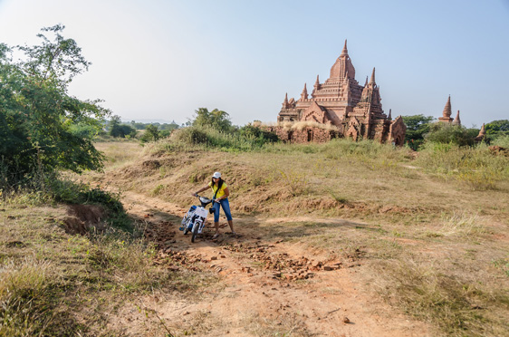 Wanderlusting in the plains of Bagan, creating adventures…