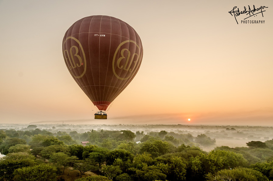 Balloons over Bagan….