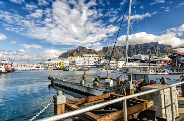 Beautiful Waterfront and Table Mountain