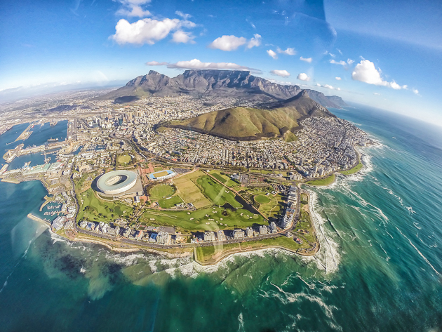 Cape Town from the air - Two Oceans Helicopter Ride