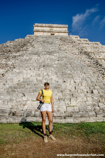 How amazing to in Chichen Itza!