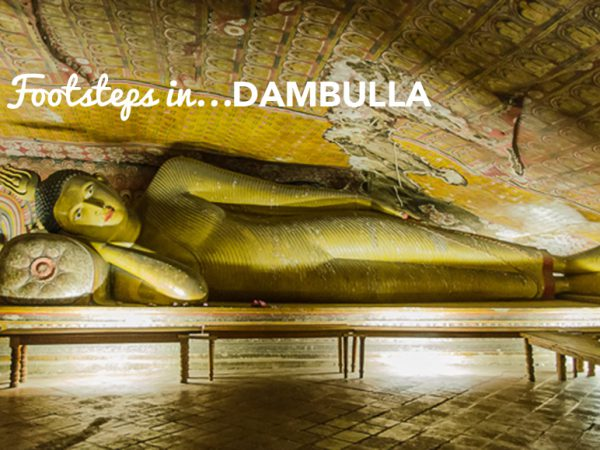 Footsteps in…Dambulla