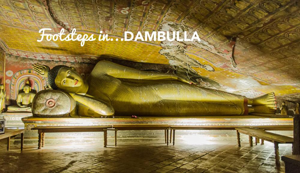 Footsteps in…Dambulla