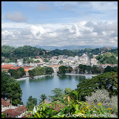 View of Kandy from Sekenani Hill area