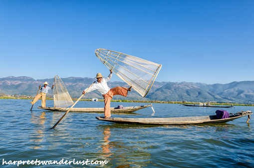 Intha Fishermen of Lake Inle