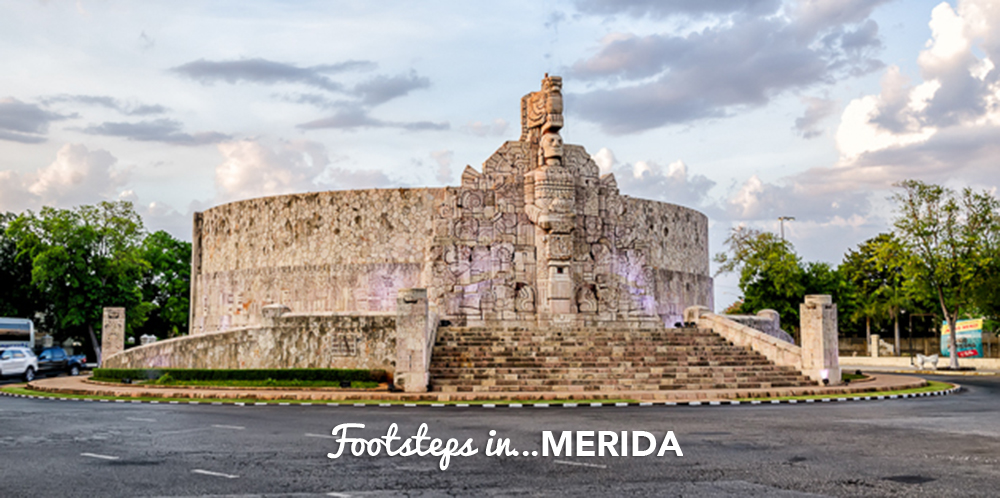 Footsteps in…Merida