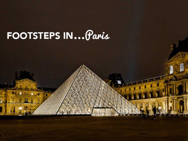 Footsteps in…Paris!