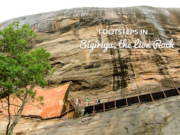 Footsteps in…Sigiriya, the Lion Rock