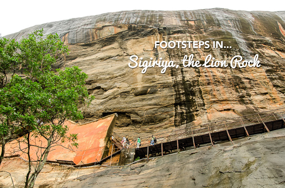 Footsteps in…Sigiriya, the Lion Rock