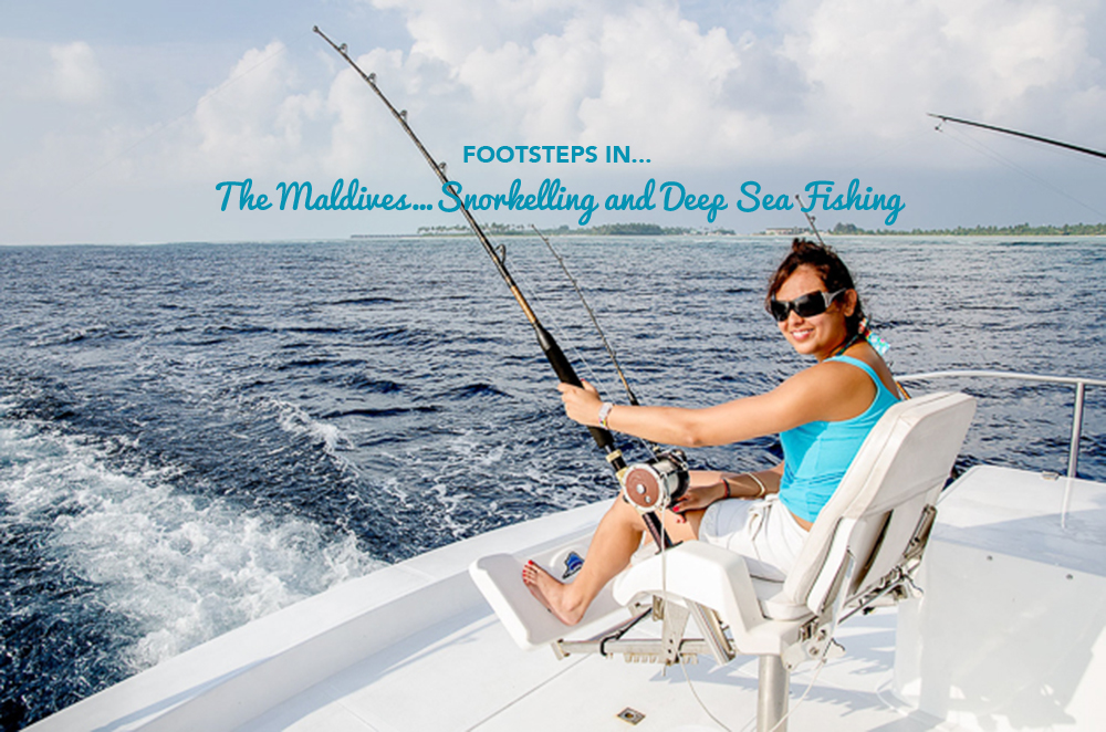 Footsteps in…The Maldives…Snorkelling and Deep Sea Fishing