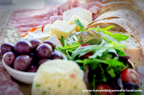 A picnic fit for a king at La Couronne