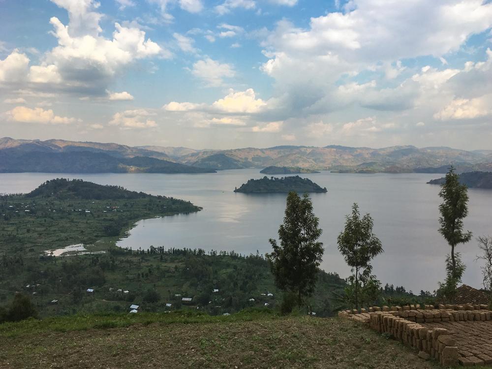 Lakes Bulera and Ruhengeri at Virunga Lodge