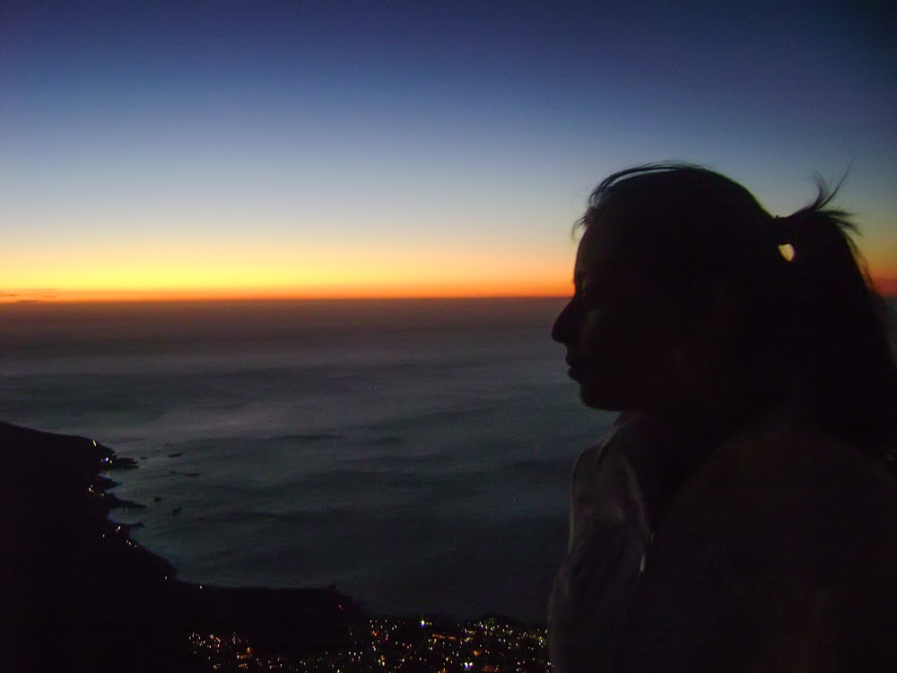 My very first Wanderlust Sunset...Table Mountain, Cape Town