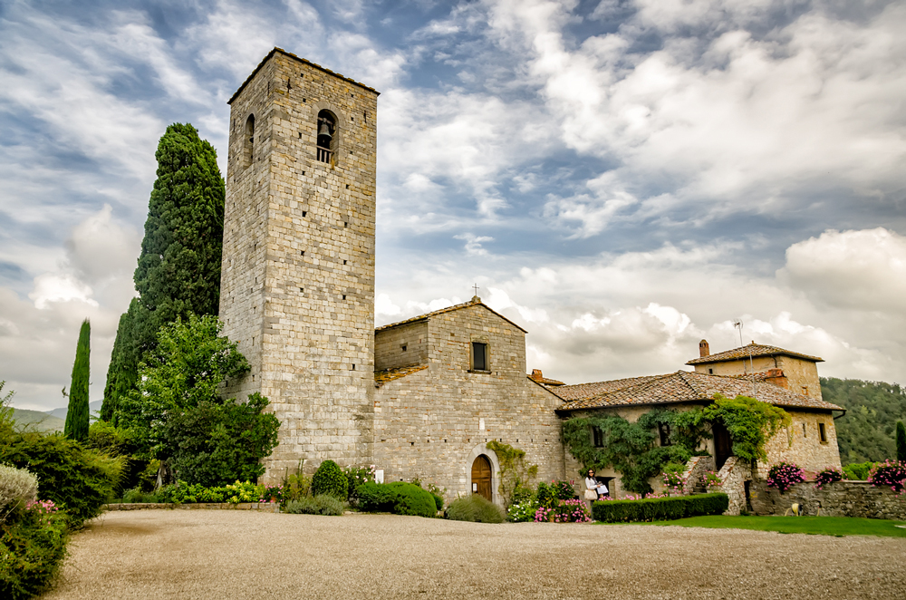 Castello di Spaltenna: Tuscan in every sense of the word!