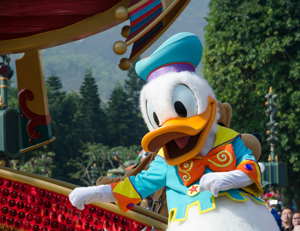 Donald Duck was one of my favourite characters growing up!