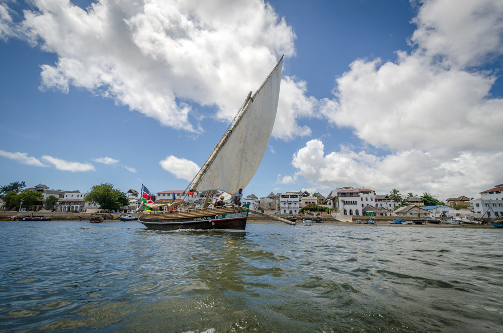 Dhows and Old Town Lamu