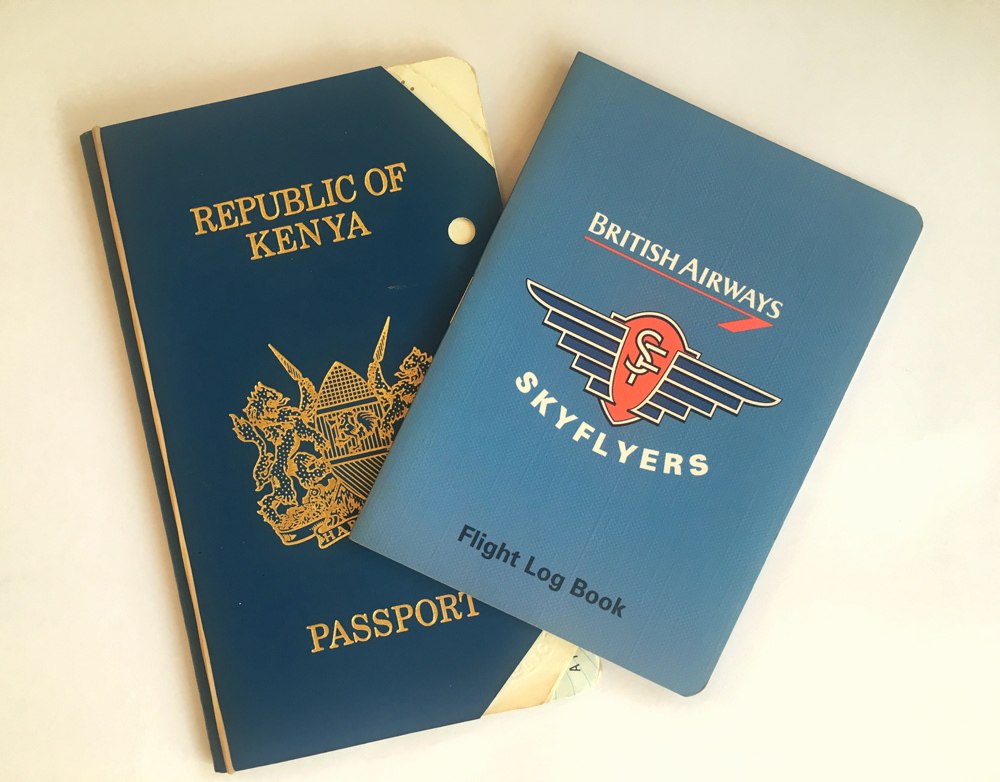 My first Passports!