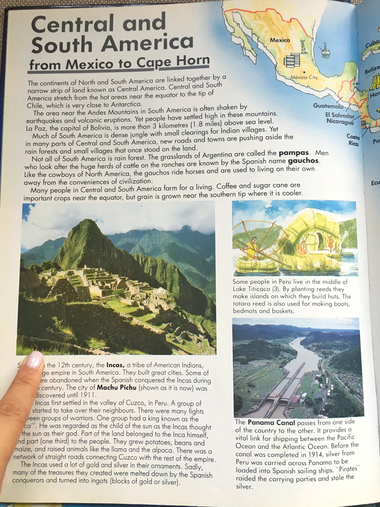 The start of my obsession with Machu Picchu!