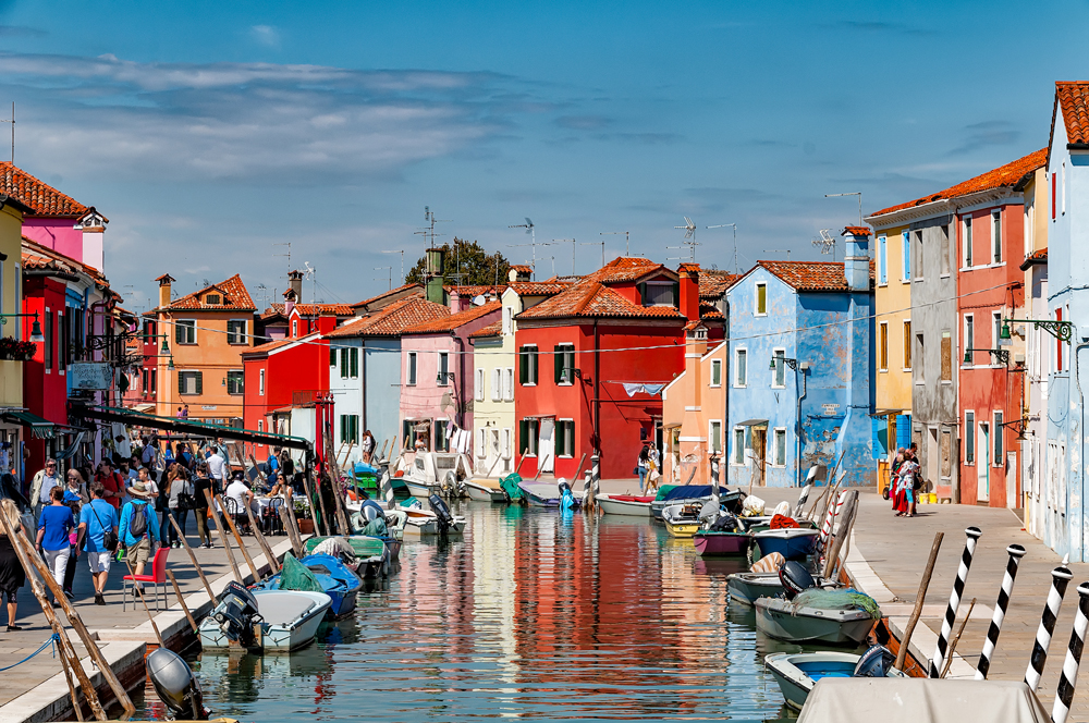 More cute, colourful houses in Burano