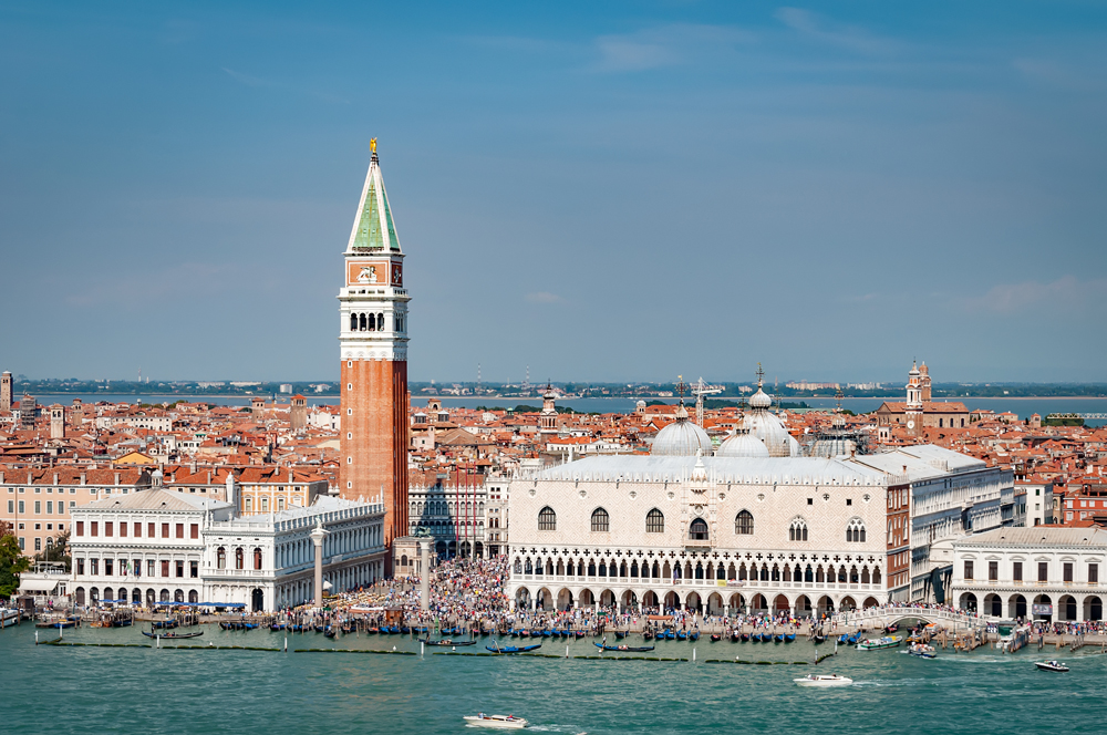 Approaching San Giorgio Maggiore from the Grand Canal