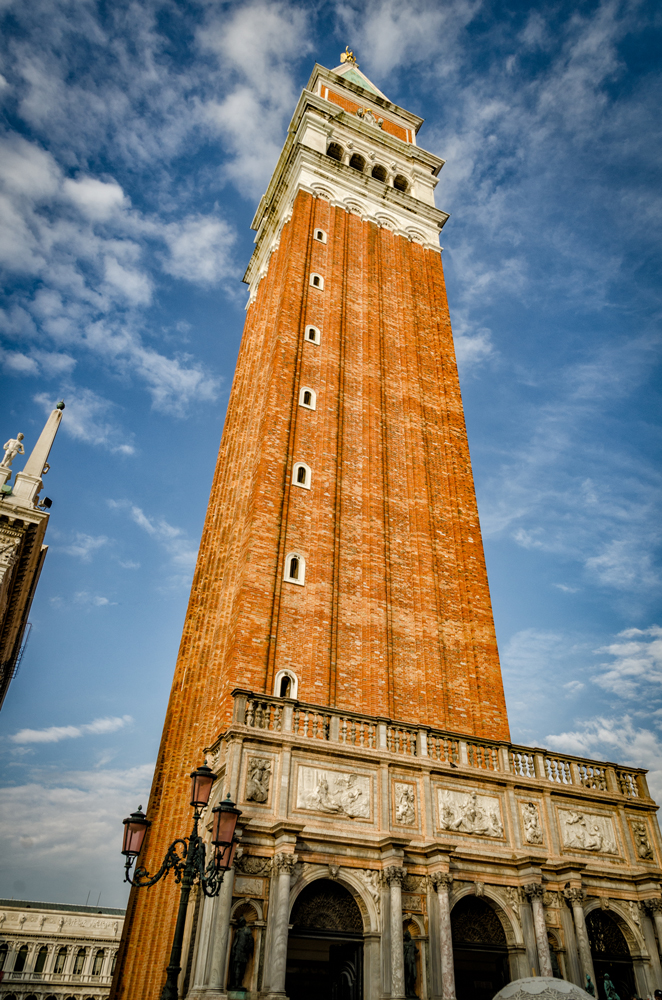 The Campanile in San Marco Square