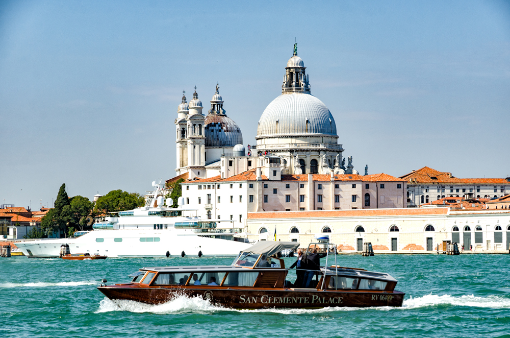 Santa Maria della Salute from the Grand Canal