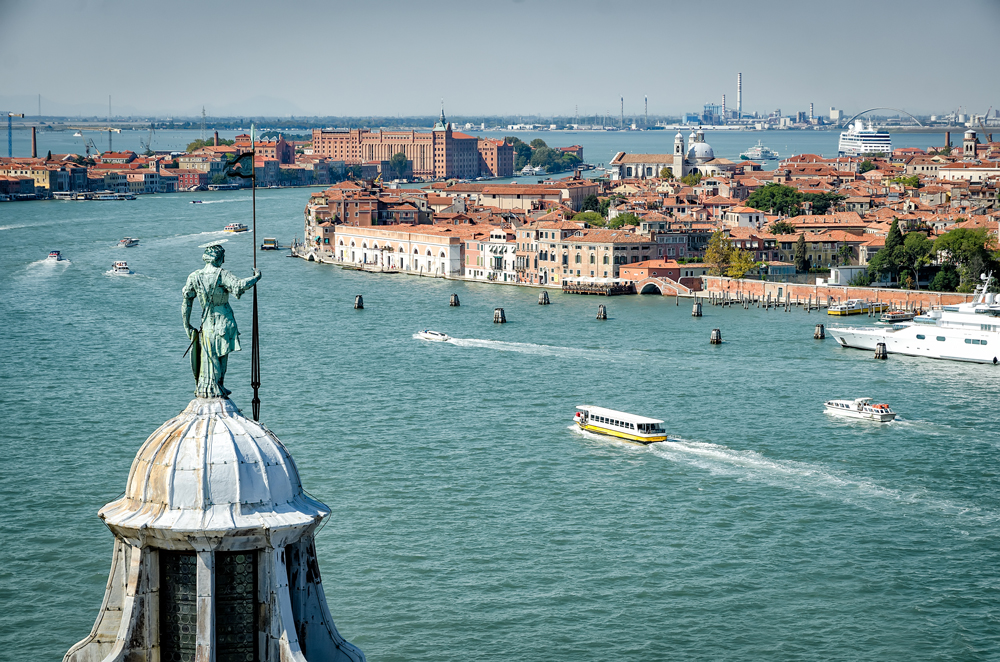 View of the Grand Canal from San Giorgio Maggiore