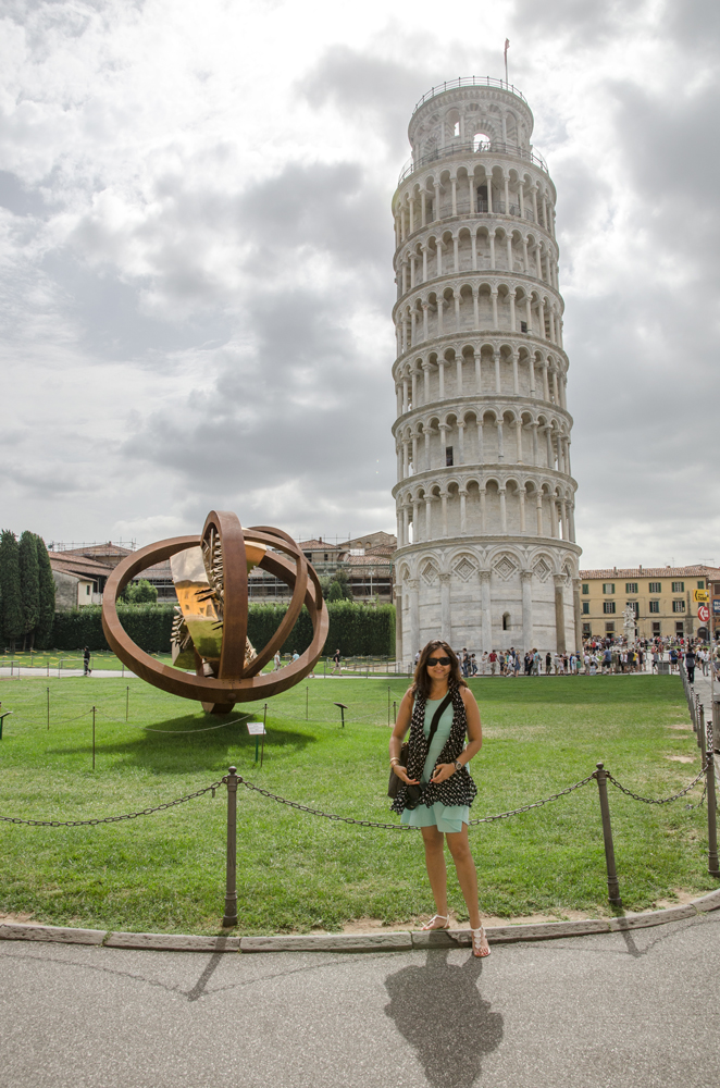 Leaning Tower of Pisa: Check!