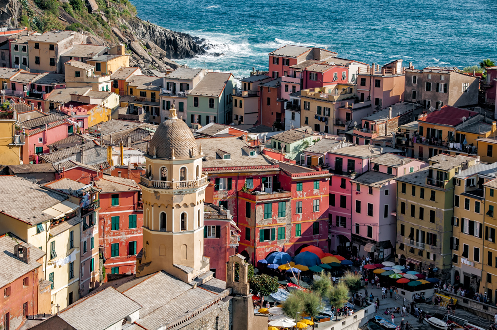 Vernazza up close