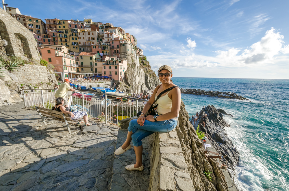 Wanderlust moment come true in Manarola