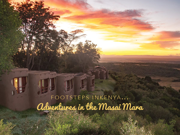 Footsteps in Kenya - Adventures in the Masai Mara