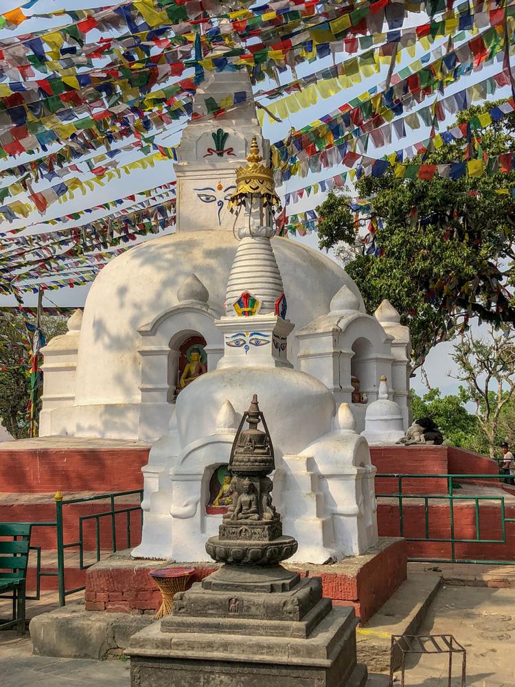 Stupas in Kathmandu