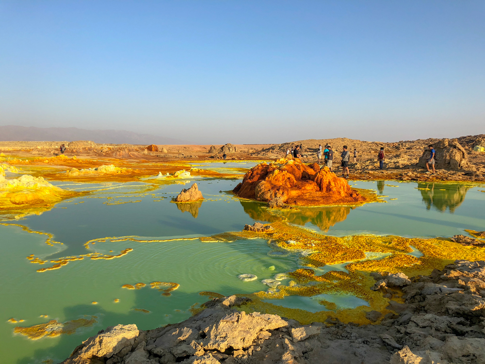 The martian landscapes of Dallol