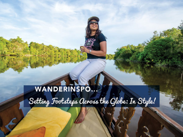 Setting Footsteps Across The Globe: In Style!