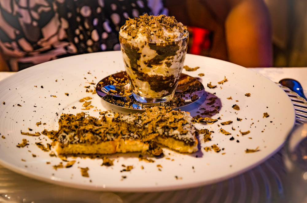 Truffle Cappuccino - delectable dining in Tuscany