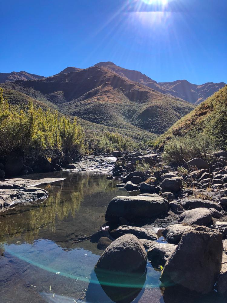Stunning landscapes in Lesotho