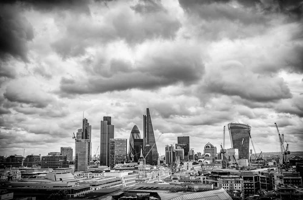 The London Skyline from St Paul's Terrace