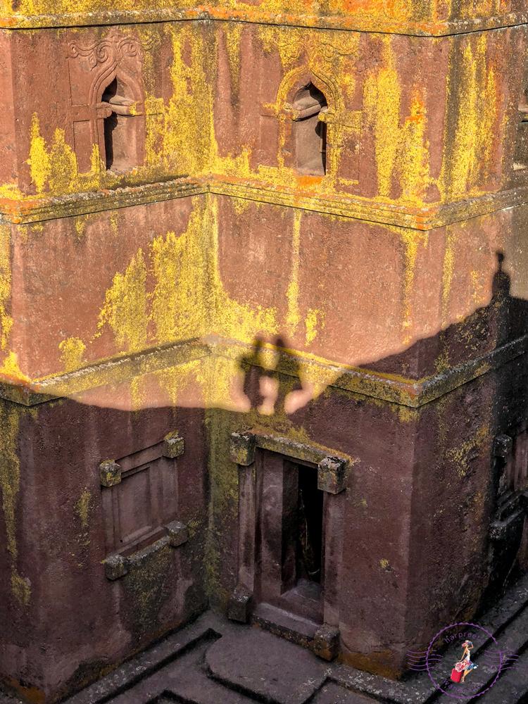 Our shadows on St. Giorgis