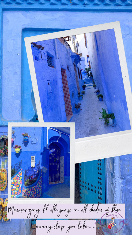 The charming alleyways of Chefchaouen