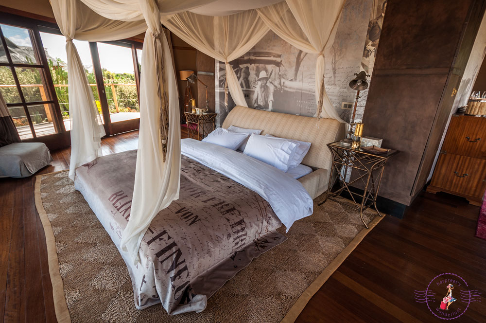 Gorgeous bedroom in Villa Segera