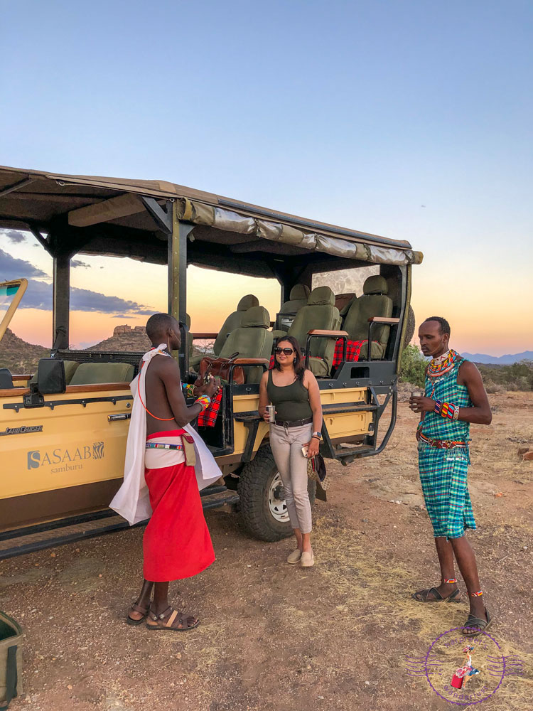 Enjoying sundowners: conversations with Jacob and Lettis